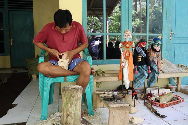 Fabrication Wayang Golek