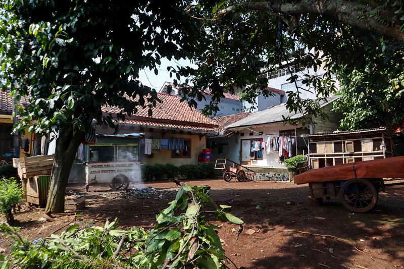 Cour de maison à Bogor