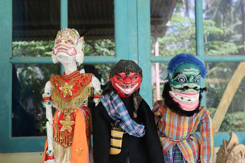 Trois wayang Golek