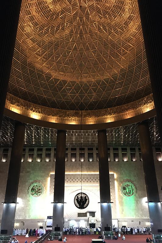 La Mosquee Istiqlal à Jakarta