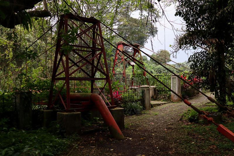 Pont jardin botanique de Bogor