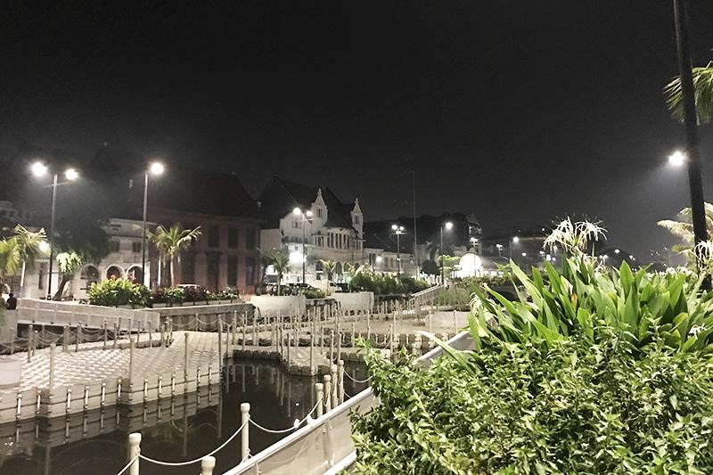 Le quartier Kota Tua à Jakarta