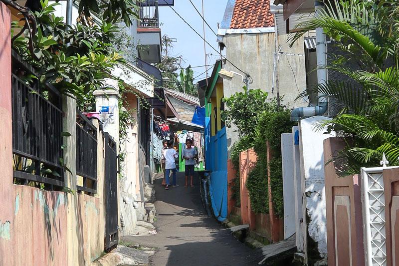Petite ruelle de Bogor