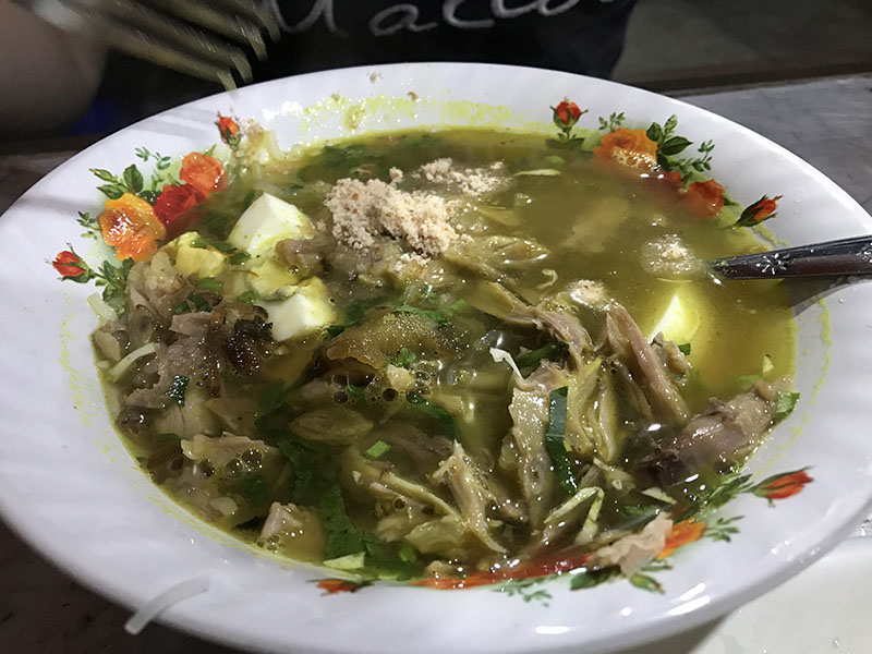 Plat Soto Ayam