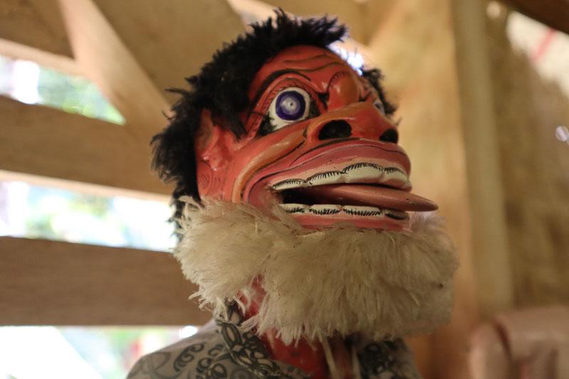 Marionnette Wayang Golek
