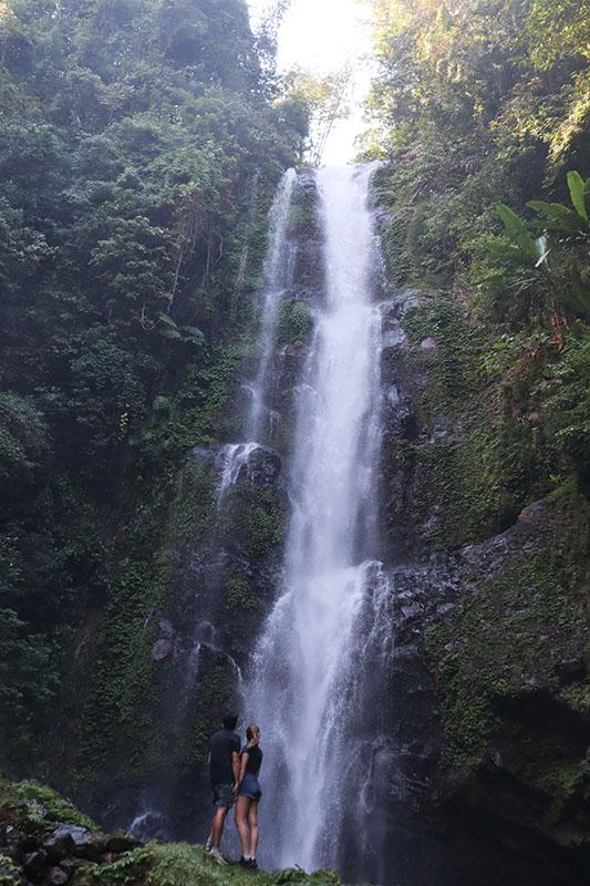 Melanting Waterfall Munduk Bali