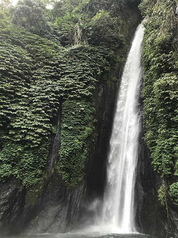 Red Coral Waterfall Munduk Bali