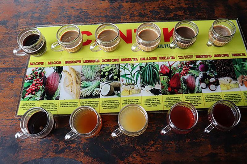 Café et thé de Bali