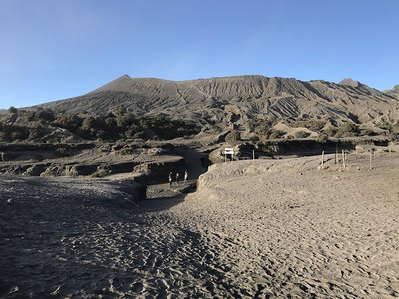 Chemin du mont Bromo