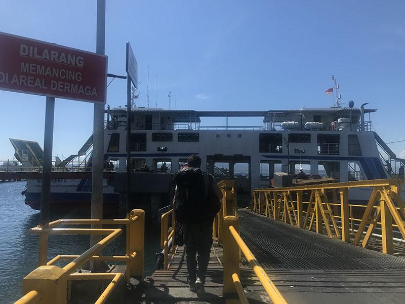 Ferry de Ketapang pour Bali