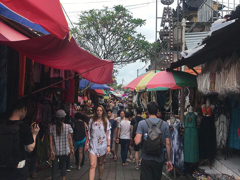 Marché de rue Ubud
