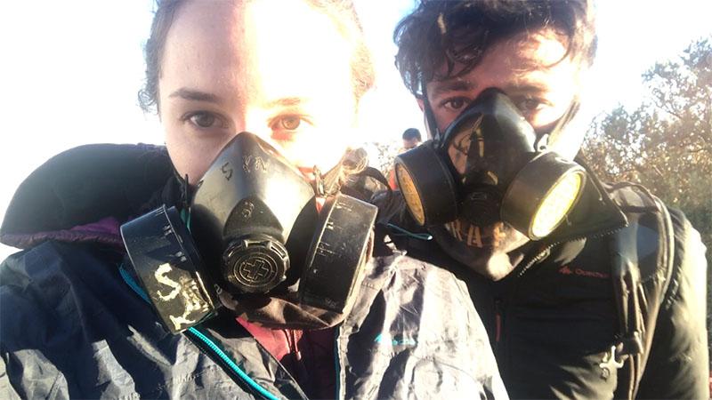 Masque à Gaz pour Ijen