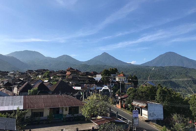 Village de Munduk à Bali