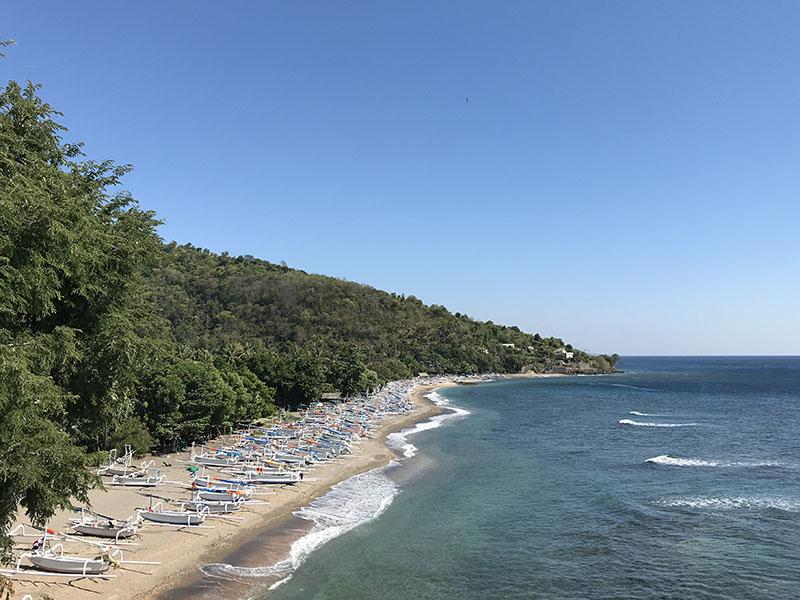 Plage Amed Bali