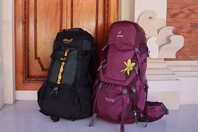 Préparer son sac à dos pour voyager en backpack