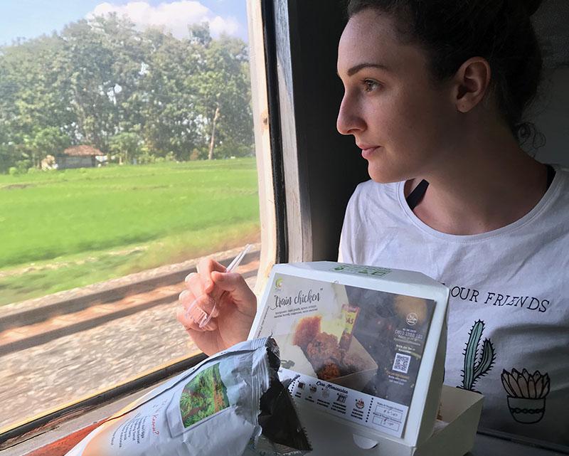 Trajet train Bromo