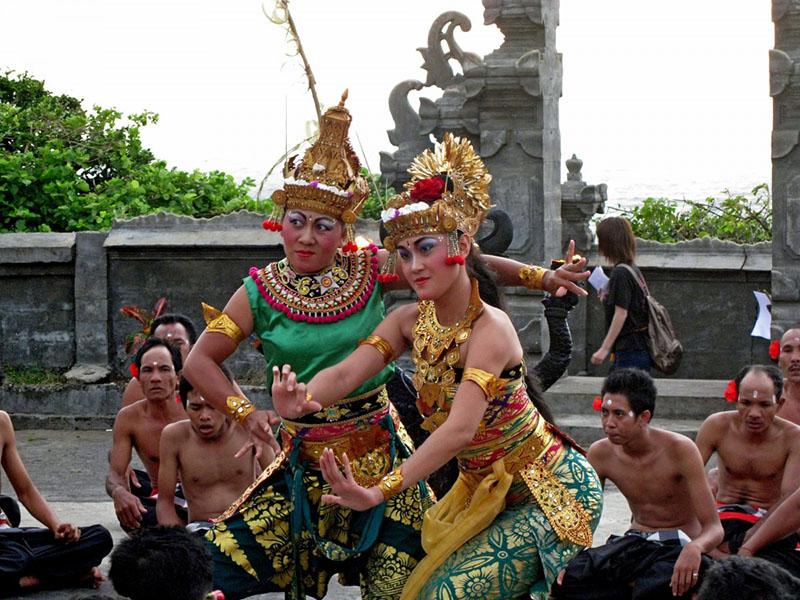 Ubud danse traditionnelle Balli
