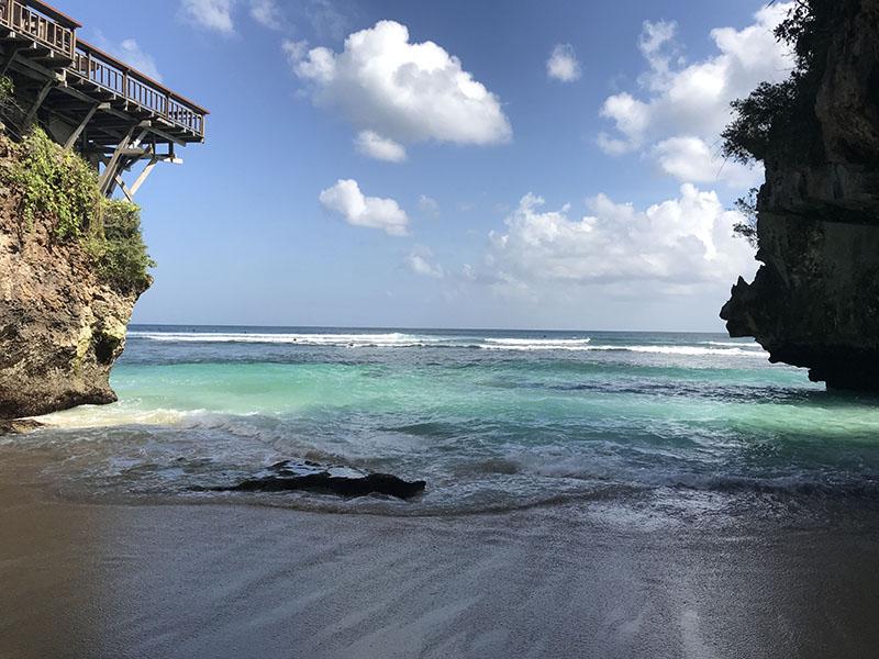 uluwatu beach bali plage