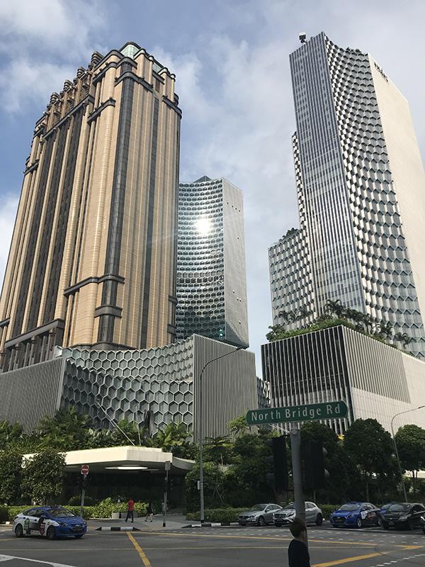 Vue building Singapour