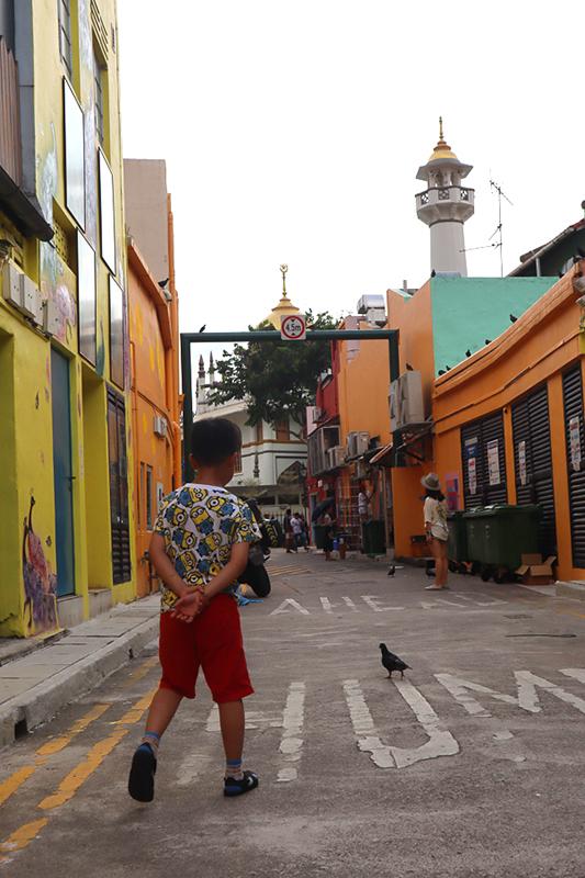 enfant sur arab street