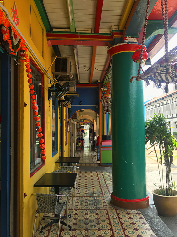 little india quartier colore singapour