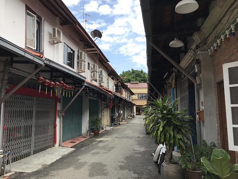 malacca ville deserte