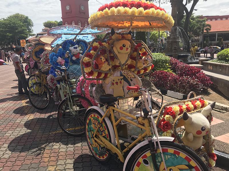 parking trishaws