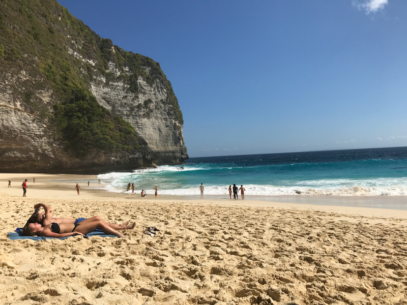 plage Kelingking Beach Nusa Penida