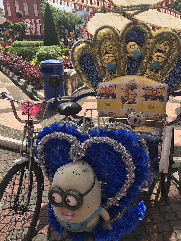 trishaws malaisie