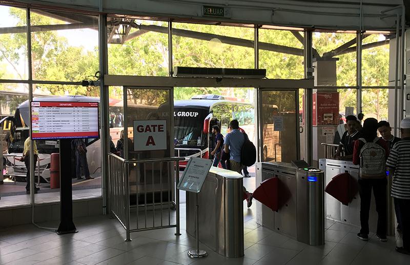 sentral mallaca terminal bus