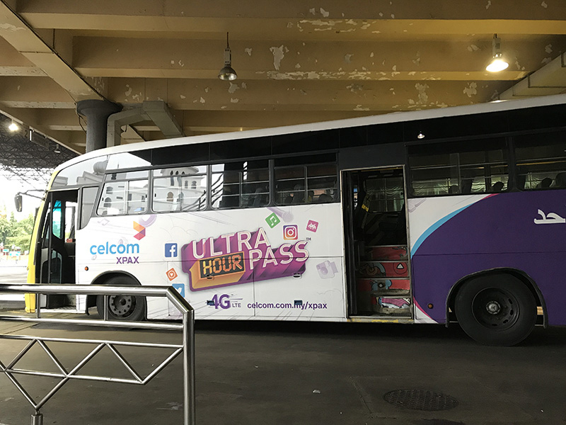 bus Kuala Terreganu ile perhentians